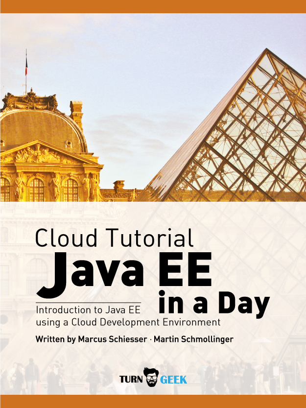 Cloud Tutorial - Java EE in a Day | Simple Book Production